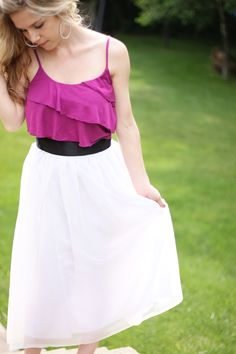 Emilee Sutherland: DIY Skirt by Kelly Hicks