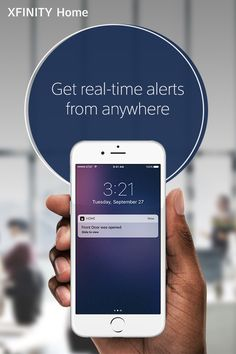 Stay connected to your home from anywhere with XFINITY Home by setting rules to get real-time alerts when activity is detected, like when doors and windows are opened.
