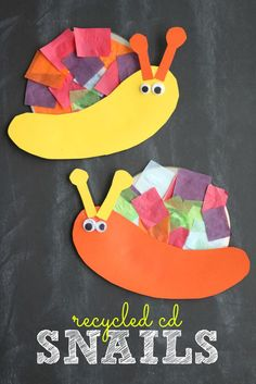 Although I'm not a big fan of snails {or any outdoor critter} today's Recycled CDSnail Kid Craft idea is ALWAYS welcome in my home. With just simple supplies like colorful tissue paper, glue and an old CD you probably already... Continue Reading →