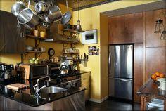 [Interior] Estilo industrial a todo color   Decorar tu casa es facilisimo.com