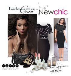 """NEW CHIC"" by newoutfit ❤ liked on Polyvore featuring women's clothing, women, female, woman, misses and juniors"