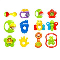 Just 1pcs Plastic Musical Hand Bells Rattles Flower Sunflower Baby Toys Newborn Teether Girls Toys Soft For Children Mobiles Up-To-Date Styling Baby & Toddler Toys