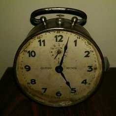 Mihai Eminescu 1850-1889. Gustav Becker clock. This model was manufactured 1852-1877