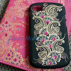 One of my fave phone cases  Blue & pink look great together! For…