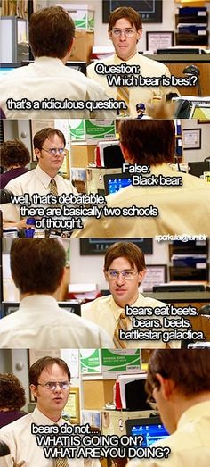 One of the best scenes, no doubt. Identity theft is not a joke Jim!!