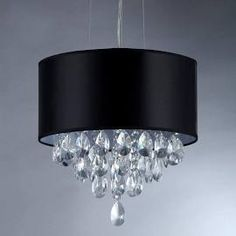 Warehouse of Tiffany Sophie 3-Light Silver Crystal Chandelier with ...