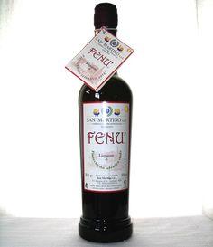 Fenù. Liquore di finocchietto selvatico sardo. SardinianStore.com