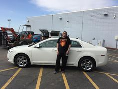 Awesome! Congratulations to Susan on your new 2008 Chevrolet Malibu!  Thank you again, Kunes Country Ford Lincoln of Sterling and Chris Lansford.
