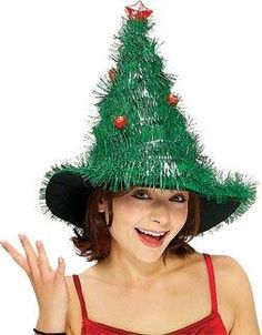 c36eb6d2fa Recycle Reuse Renew Mother Earth Projects  How to make a Yule Witch Hat  Christmas Goodies
