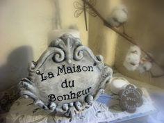 """""""La Maison du Bonheur"""" Fabrication artisanale : Décorations murales par mineral"""
