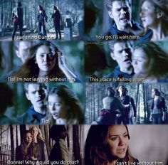 5x22 There is no world for Elena without Damon in it