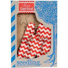 Seedling I Love Gingerbread Baking Kit