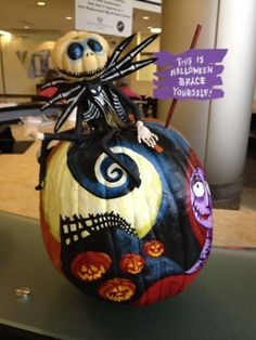 source Beauty and the Beast inspired pumpkins <—- image source Amazing Pumpkin Carving, Scary Pumpkin, Pumpkin Art, Pumpkin Painting, Pumpkin Ideas, Pumpkin Designs, Pumpkin Carvings, Pumpkin Decorating Contest, Pumpkin Contest