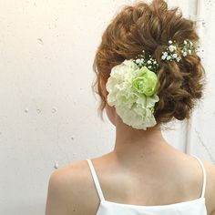 「一生に一度の花嫁さんの髪型は?とっておきのヘアスタイル画像集」に含まれるinstagramの画像|MERY [メリー]