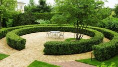 Rosamaria G Frangini | Architecture | Garden | Radial Composition