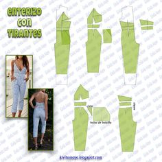 Diy Clothing, Sewing Clothes, Clothing Patterns, Easy Sewing Patterns, Fabric Patterns, Fashion Sewing, Diy Fashion, Bodice Pattern, Parisienne Chic