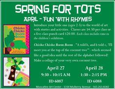 April 2016 Spring for Tots - Muscatine Art Center