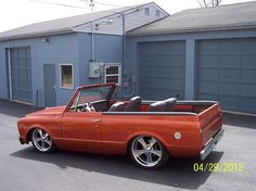 Chevrolet : C-10 BLAZER, always wanted one of these