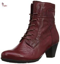 Gabor  National L Bottines femme - Rouge - 38.5EU (UK 5.5) - Chaussures gabor (*Partner-Link)