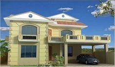 architectural design front balcony - Google Search