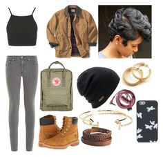 """"""""""" by hedvigaarts on Polyvore featuring rag & bone, Topshop, Timberland, Fjällräven, Coal, Aéropostale, Pieces and Marc by Marc Jacobs"""