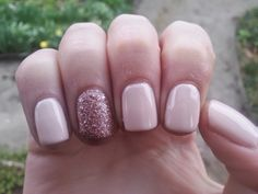 Nice Nails: Nude rose'gold