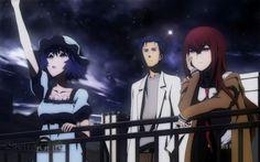 Shiina Mayuri, Okabe Rintaro, Makise Kurisu
