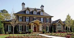 Traditional House Plan with 3027 Square Feet and 4 Bedrooms from Dream Home Source | House Plan Code DHSW076803