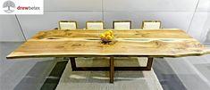 Exklusiv Table walnut edge SATISFACTION.