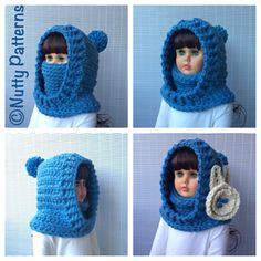 BOSTON HOODED COWL is functional, comfy and stylish…both for boys and girls. It is a hood, a cowl, a neck warmer, an ear warmer and even a nose warmer : )) all in one.