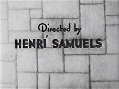 Title sequence. Director credit | Fast Bullets (1936); directed by Harry S. Webb (billed as Henrí Samuels); for Reliable Pictures