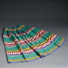 Seminole Patchwork Woman's Skirt