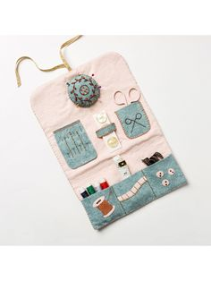 Felt Sewing Roll Craft Kit by Corinne Lapierre, the perfect gift for Explore more unique gifts in our curated marketplace. Needle Book, Needle Case, Sewing Case, Sewing Crafts, Sewing Kits, Sewing Ideas, Hand Sewing Projects, Crochet Projects, Sewing Accessories