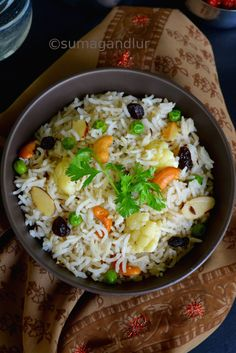 Vegetable pilaf quick way in rice cooker recipe rice dishes here is an impressive and delicious pulao recipe that supposedly comes from the royal kitchens of rajasthan interestingly there is no forumfinder Choice Image