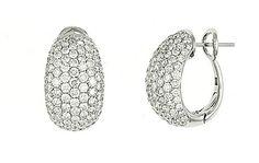 Diamond earrings for mom