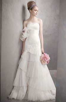 Brides Magazine: White by Vera Wang  : Style No. VW351020 : Wedding Dresses Gallery