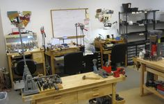 The Tortured Heart Workshop - Love this studio. Has everything a jewelry artist and metal worker would need!