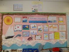 Kensuke's Kingdom classroom display photo - Photo gallery - SparkleBox Bulletin Board Display, Bulletin Boards, Kensukes Kingdom, Hokusai Great Wave, Classroom Displays, Photo Displays, Natural Disasters, Geography, Teaching Resources