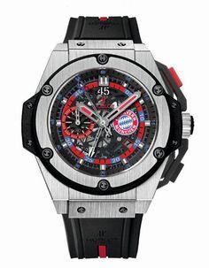 Hublot - La montre officielle de King Power Bayern Munich