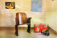 cadeira de cinema cimo anos 50 - perfeitas! promoção
