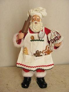Resultado de imagen para pinterest santa cocinero