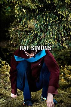 Raf Simons AW/13 campaign by Willy Vanderperre.