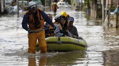 09/11/2015 - Worst in 50 years: Houses washed away, dramatic rescues as tsunami-like flood swamps Japan