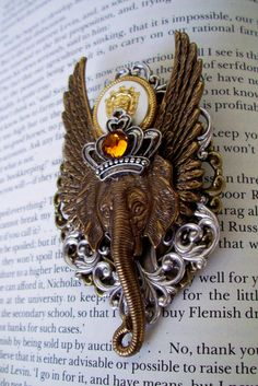 Steampunk Pin M50  Brooch  Royal Order of by DesignsByFriston, $49.00