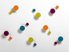 Вешалка для одежды / крючок для стен PLANET by Hermann Schwerter Iserlohn | дизайн Kirchhoff