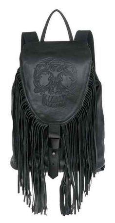 Free shipping - Harley-Davidson Women's Gypsy Sugar Skull Traveler Backpack, HDWBA10979-BLK - For the Home/Bags & Luggage/Backpacks & Slings -