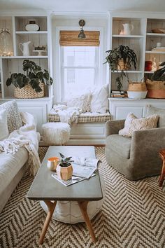 - A mix of mid-century modern, bohemian, and industrial interior style. Home and. - – A mix of mid-century modern, bohemian, and industrial interior style. Home and… – A mix o - Casual Living Rooms, Cozy Living Rooms, Living Room Interior, Home Interior, Home Living Room, Living Room Designs, Living Area, Modern Living, Windows In Living Room