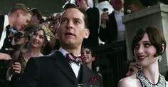 Tobey Maguire as Nick Carraway & Isla Fisher as Myrtle Wilson, Title: The Great Gatsby Release Date: 10/05/2013 Genre: Romance / Drama Country: USA / Australia Director: Baz Luhrmann Cast: Leonardo DiCaprio, Carey Mulligan, Tobey Maguire, Joel Edgerton, Isla Fisher & Jason Clarke Studio: Village Roadshow Pictures / Distribution: Warner Bros. Pictures