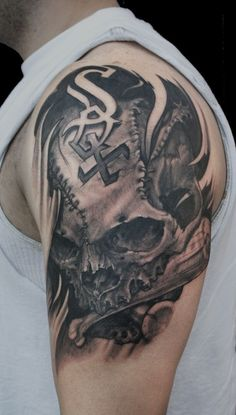 totally wicked Chicago White Sox tat