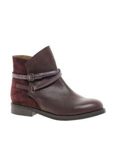 ASOS ALTITUDE Leather Jodhpur Boots